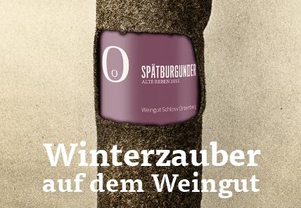 Winterzauber im Weingut