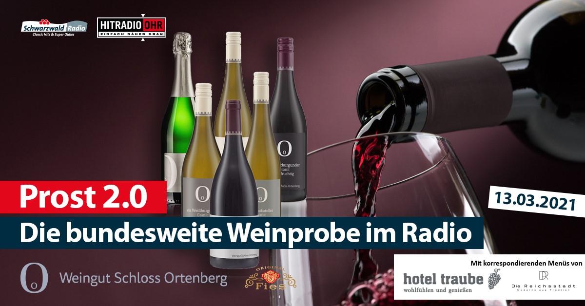 """""""Prost 2.0"""" die deutschlandweite Radioweinprobe am 13. März"""