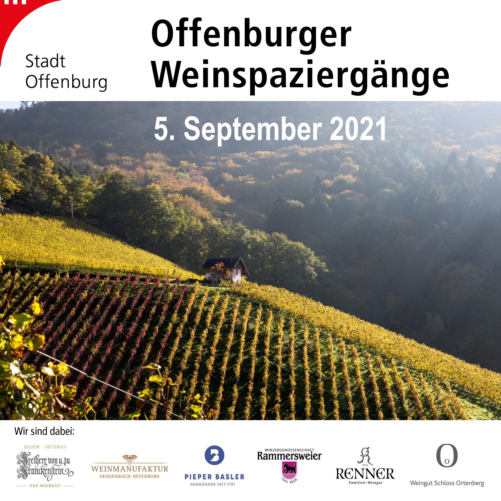 Offenburger Weinspaziergänge am 5. September